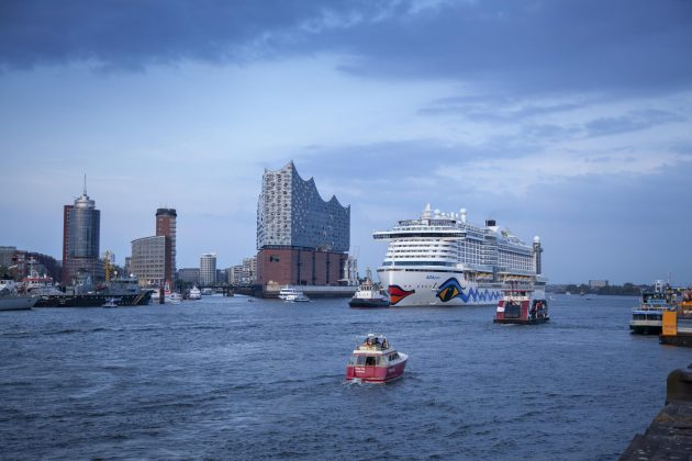 AIDA Cruises kommt über 90 Mal nach Hamburg, AIDA nimmt Kurs auf Hamburg