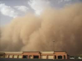 Sandsturm auf den Kanaren, Sandsturm betrifft auch tausende AIDA Kunden