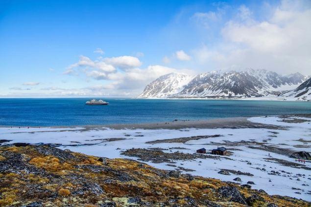 Arktis im Sommer