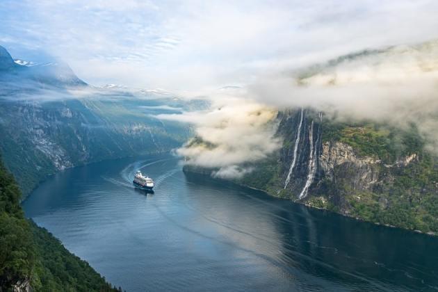 Panoramafahrten in Norwegens Fjorde