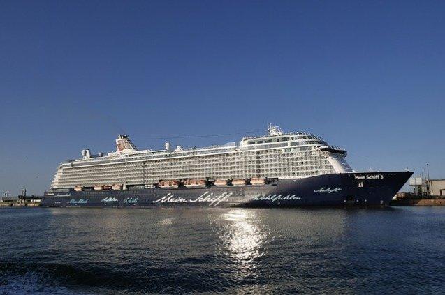 Mein Schiff 2 blaue Reise
