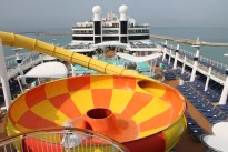 Norwegian Epic Rutsche