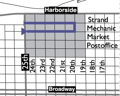 All Krewe Parade Route