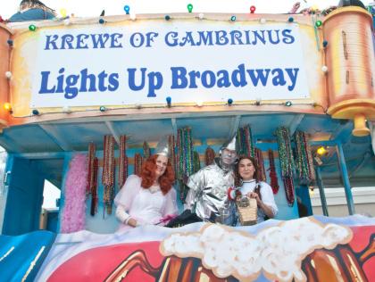 Krewe of Gambrinus Parade