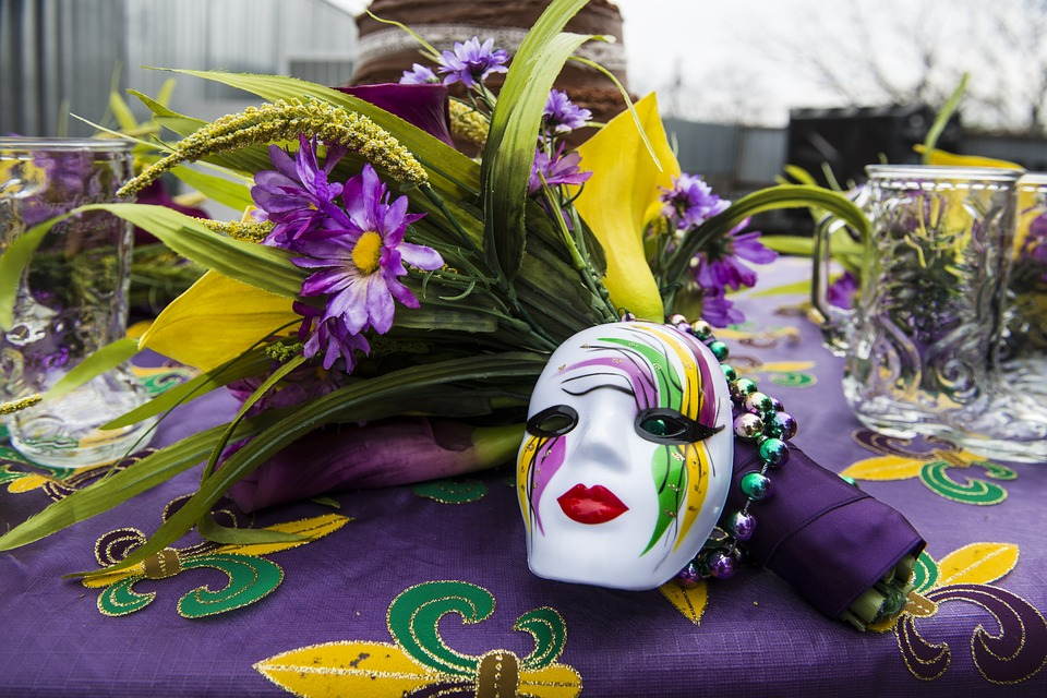 mardi gras themed party
