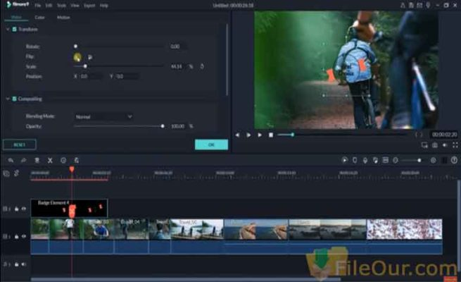 filmora video editor free download with crack 64 bit