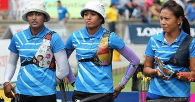 Archery Gold medal winner Indian Team