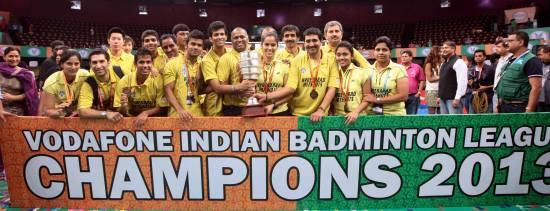IBL 2013 Champion - Hyderabad Hotshot Team