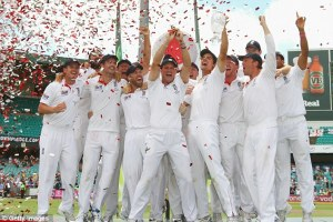 ashes series 2013 England Team