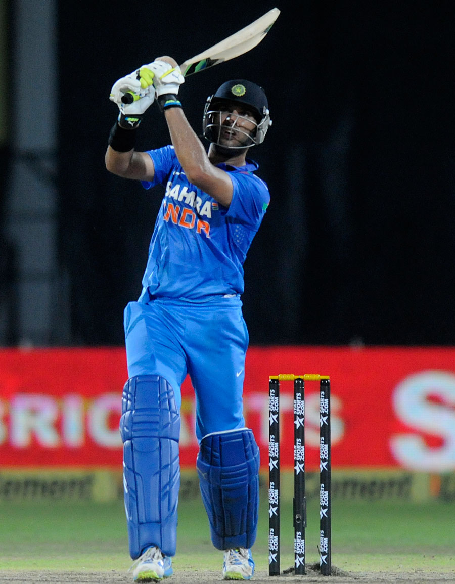Yuvraj Singh's Roaring Comeback against Heavy Odds.