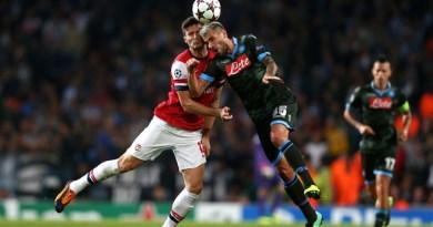Match moment Arsenal vs Napoli