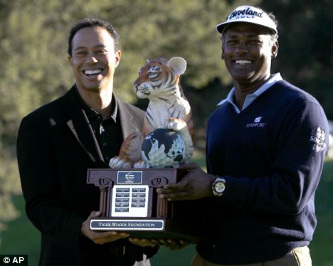 Vijay Singh and Tiger Woods - The Golf Celebrities of a Kind