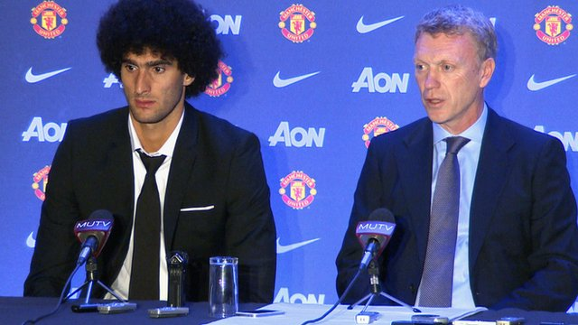 Moyes and Fellaini