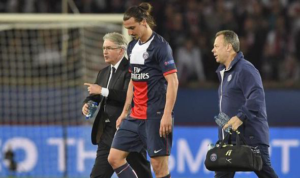 Ibrahimovic injury