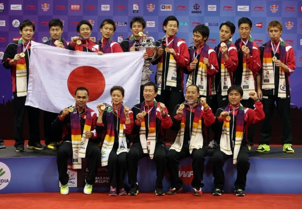 Historical Japanese Victory in Thomas Cup but Chinese Women Defend Uber Cup