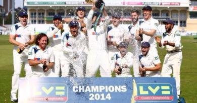 County Championship Yorkshire