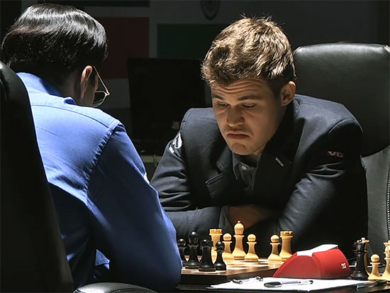World Chess Championship match 9