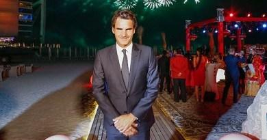 Swiss legend Roger Federer