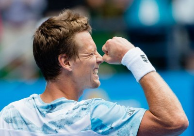 Simon Upsets Murray at Rotterdam, Joins Berdych, Raonic & Wawrinka in Semis