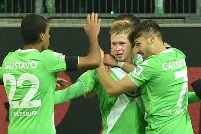 Wolfsburg players