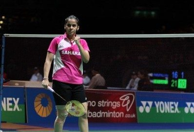 Indian suttler England Open Badminton Championships