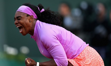 Serena Williams French Open QF