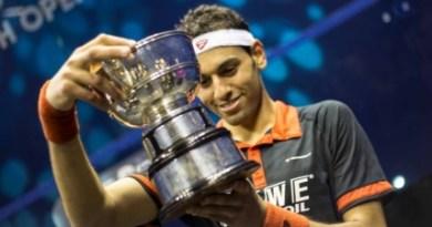 Win British Open Squash Titles