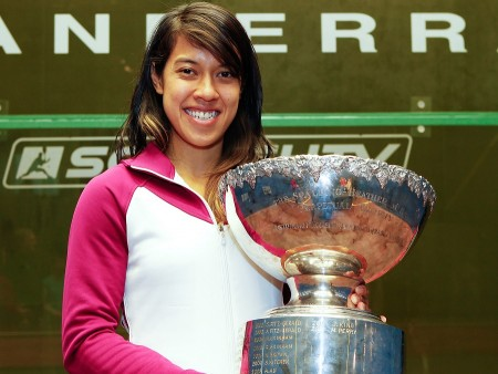 Squash Queen Nicol David