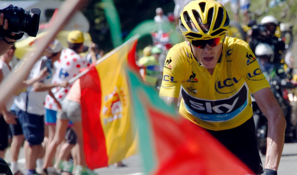 Froome overwhelms his Tour de France