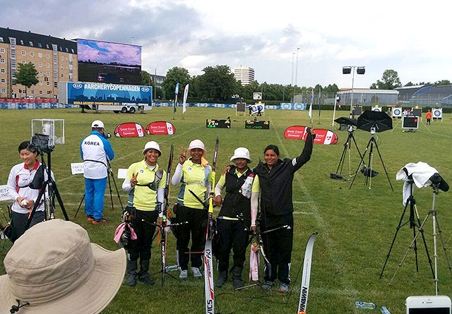 Indian Women Archers Qualify