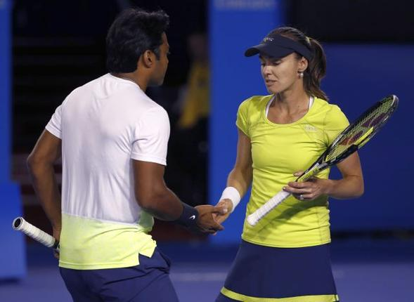 Martina Hingis & Leander Paes Mix Doubles