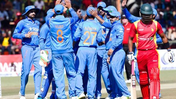 Team India vs Zimbabwe in first ODI