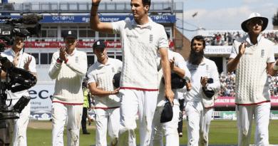 Third Test victory