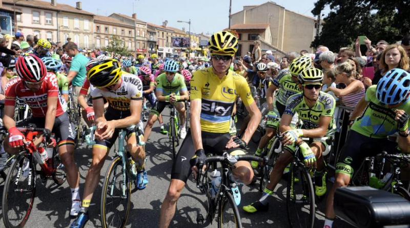 Tour de France lead