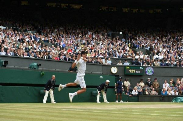 Wimbledon Final Djokovic