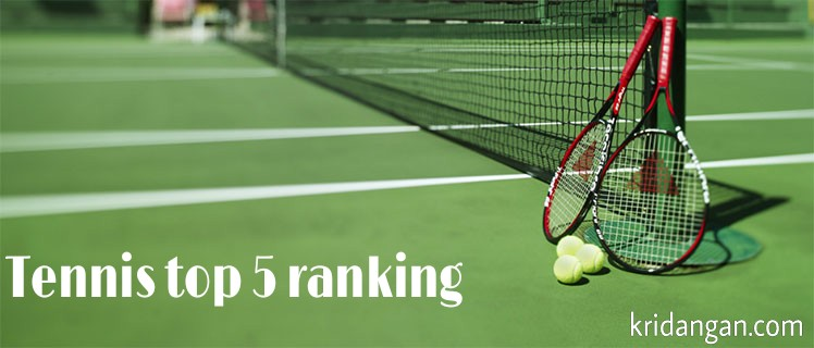 Tennis Top 5 women's  doubles rankings