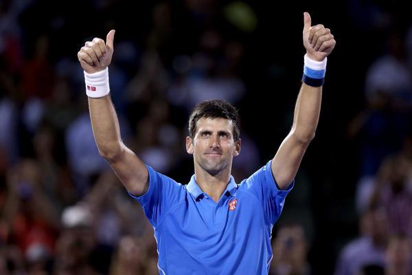 Cincinnati Masters Novak
