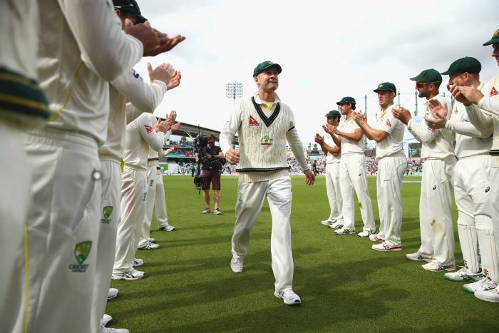 Fifth Test in an Ashes Clarke
