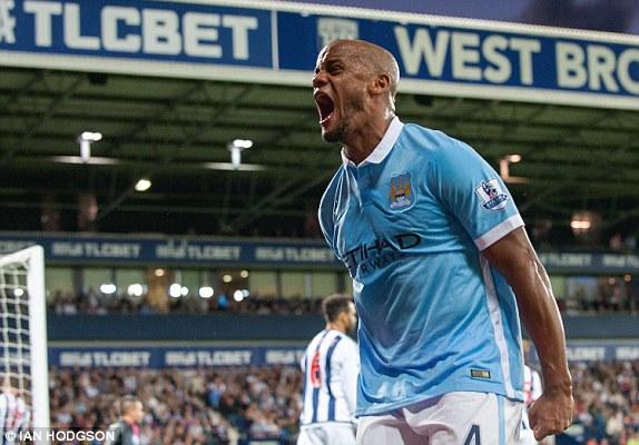 Premier League action Manchester City