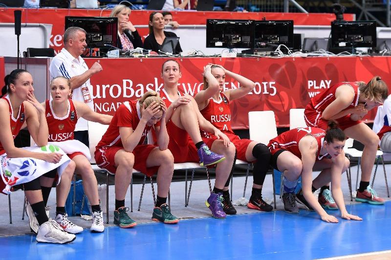 Russian Women Basketball Team