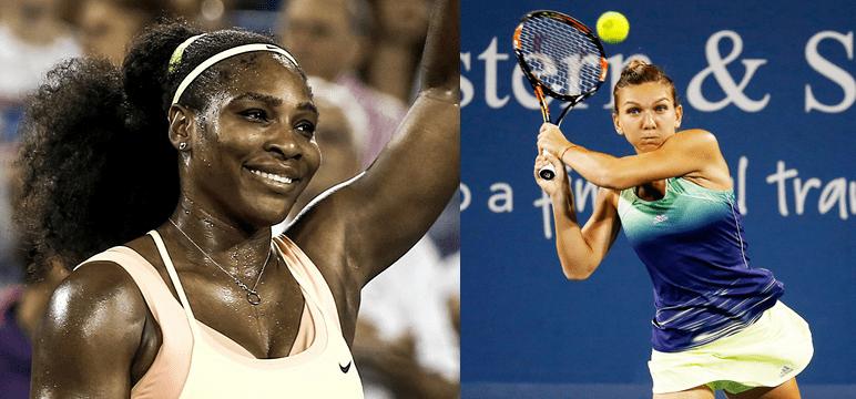 Serena vs Halep
