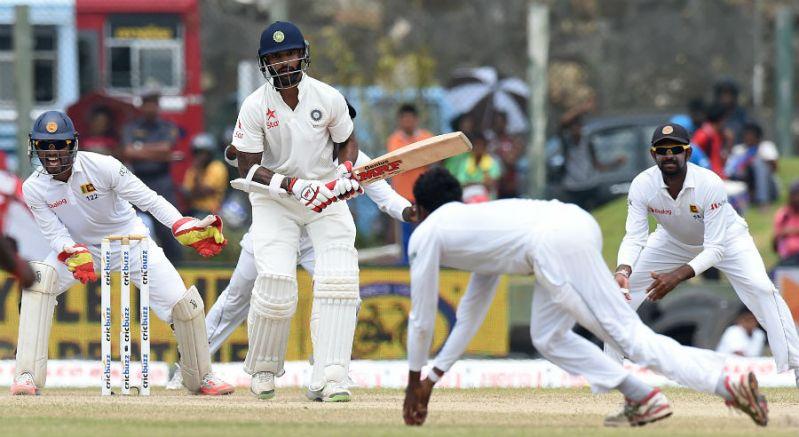 india vs sri lanka test cricket action
