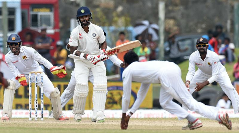 india vs sri lanka test cricket action