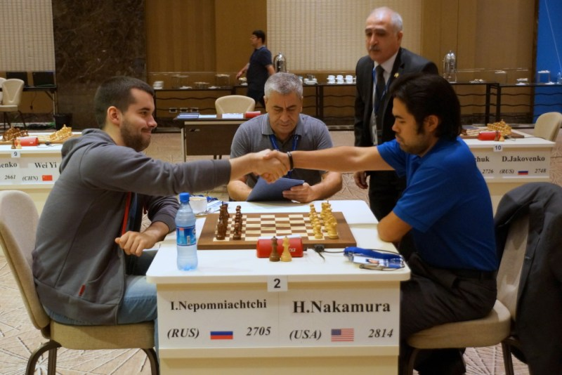 2015 World Chess Cup after