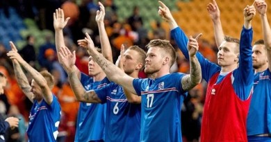 Iceland UEFA Euro 2016 qualification