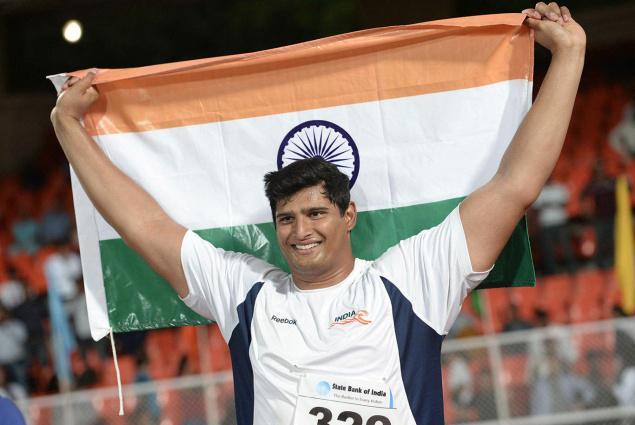 India Athletes in 2015