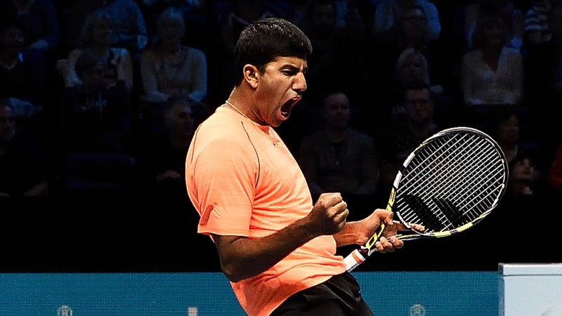 Rohan Bopanna Barclays ATP World Tour Finals
