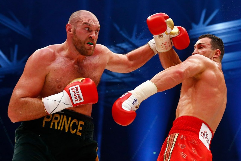 The Klitschko domination of the heavyweight division ends  with Tyson Fury outpointing Wladimir