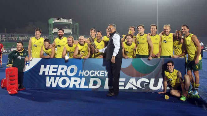 Australia Win Hero Hockey World League