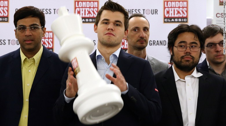 Magnus Carlsen London Chess Classic